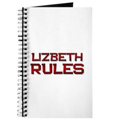 lizbeth rules Journal