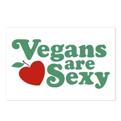 Vegans are Sexy Postcards (Package of 8)