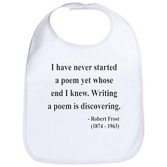Robert Frost 12 Bib