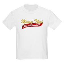Muay Thai Kickboxing - Yellow T-Shirt