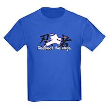 Ninja Respect (Kanji) T