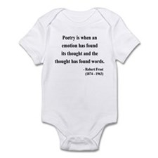 Robert Frost 13 Infant Bodysuit