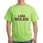 lisa rules Green T-Shirt