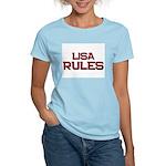 lisa rules Women's Light T-Shirt