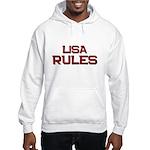 lisa rules Hooded Sweatshirt