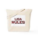 lisa rules Tote Bag