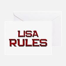 lisa rules Greeting Card