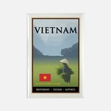 Vietnam Rectangle Magnet