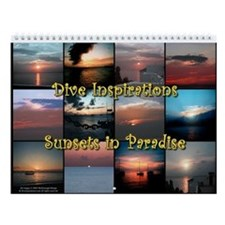 Sunsets in Paradise Wall Calendar
