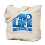 Pro-Life, from conception to Tote Bag