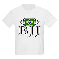 BJJ - Flag - Black T-Shirt