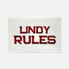 lindy rules Rectangle Magnet