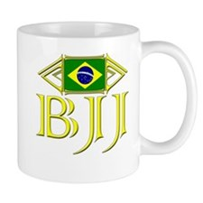 BJJ - Flag - Yellow Mug