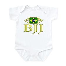 BJJ - Flag - Yellow Infant Bodysuit