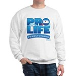 Pro-Life, from conception to Sweatshirt