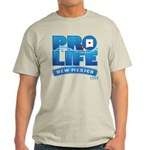Pro-Life, from conception to Light T-Shirt