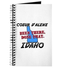 coeur d'alene idaho - been there, done that Journa