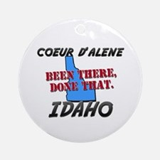 coeur d'alene idaho - been there, done that Orname