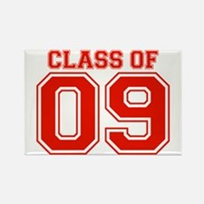 Class Of 09 (Red Varsity) Rectangle Magnet