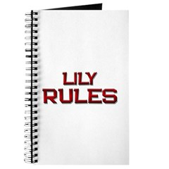 lily rules Journal