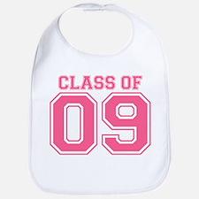 Class Of 09 (Pink Varsity) Bib