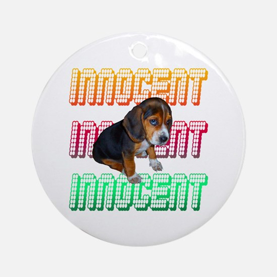 Innocent Ornament (Round)