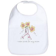 Pink For Mom Bib