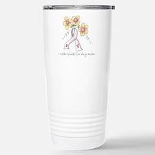 Pink For Mom Stainless Steel Travel Mug