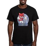 Foxy Foxy Men's Fitted T-Shirt (dark)