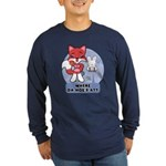 Foxy Foxy Long Sleeve Dark T-Shirt
