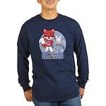 Foxy Foxy Long Sleeve Dark T-Shirt