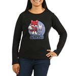 Foxy Foxy Women's Long Sleeve Dark T-Shirt