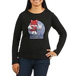 Foxy Foxy Women's Long Sleeve Dark T-Shirt