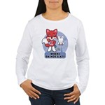 Foxy Foxy Women's Long Sleeve T-Shirt