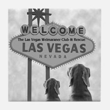 VEGAS WEIM RESCUE Tile Coaster