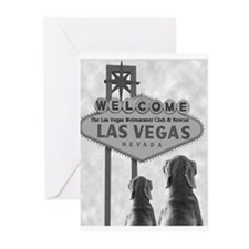 VEGAS WEIM RESCUE Greeting Cards (Pk of 10)