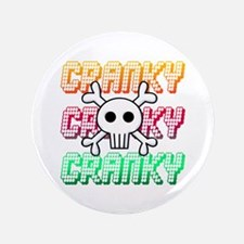 """Cranky 3.5"""" Button"""