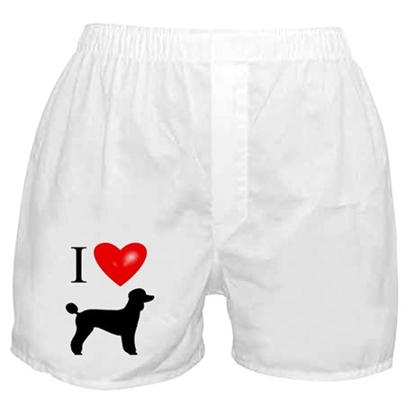LUV Poodles Boxer Shorts