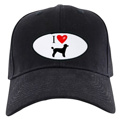 LUV Poodles Black Cap