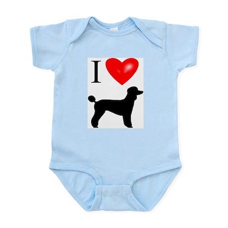 LUV Poodles Infant Bodysuit