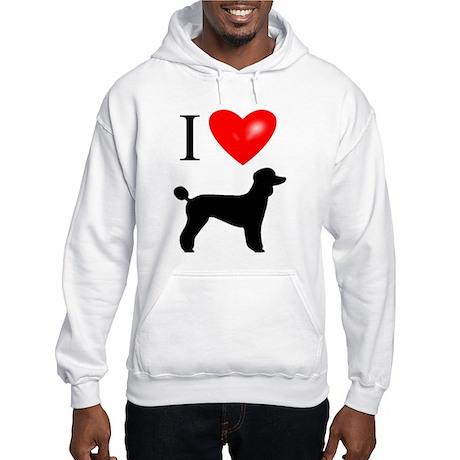 LUV Poodles Hooded Sweatshirt