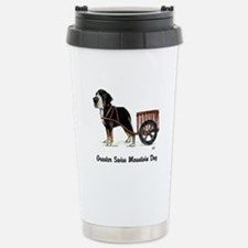 Greater Swiss Mtn Dog - Stainless Steel Travel Mug