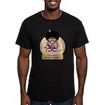 Jive Turkey Lurkey Men's Fitted T-Shirt (dark)