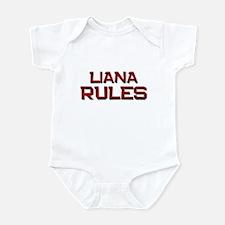 liana rules Infant Bodysuit