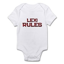 lexi rules Infant Bodysuit