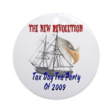 New Revolution Ornament (Round)