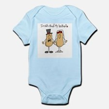 Nuts About My Husband Infant Bodysuit