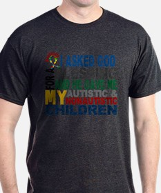 Blessing 5 Autistic and Non-autistic Children T-Shirt