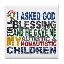 Blessing 5 Autistic and Non-autistic Children Tile
