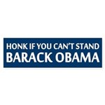 Honk If You Can't Stand Barack Obama Sticker